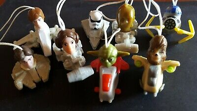 Rare Collectable ; Star Wars Keychain 8 Character Pieces