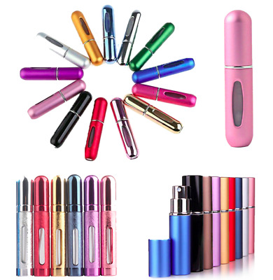 Perfume  5/12ml Atomiser Bottle Aftershave Atomizer Pump Travel Refillable Spray