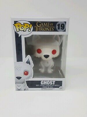 Funko Pop 19 Game of thrones Ghost. New