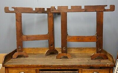 Superb Vintage Antique Wood Table Legs Workbench Kitchen Island Caraccident5 Cool Chair Designs And Ideas Caraccident5Info