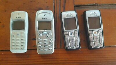 Nokia mobile phones 1100 RH18 3315 6230i vintage collectable bulk lot chargers