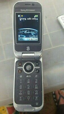 sony ericsson Z610i mobile flip phone + chargers and more