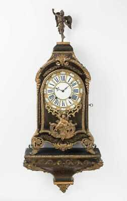 Large boulle clock & bracket Louis XIV late 17th to early 18thC verge running