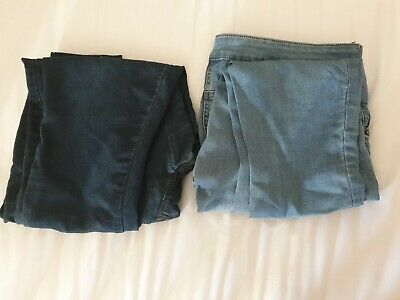 Womens Under the Bump Maternity Leggings/Jeans Size 12 Next