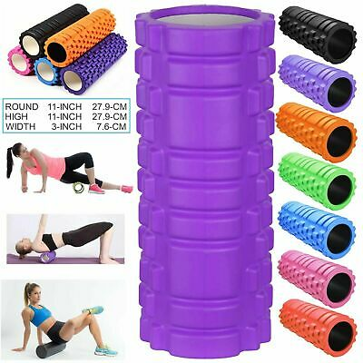 Yoga Foam Roller Textured Grid Beast Roller for Massage Workout Pilates Sports