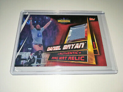 2019 Wwe Topps Slam Attax Universe Daniel Bryan Authentic Ring Mat Relic