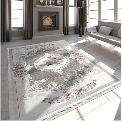Modern Traditional Rug Floral Classic Victorian Style Stylish Living Room Mats