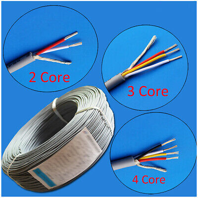 UL 2547 Flexible Shield Cable  2 3 4 Core Copper Wire for Audio Headphone Signal