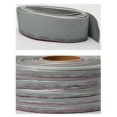 UL 2651 Flexible Flat Ribbon Cable 4 to 12 Way Hook Up Wire 28 awg 1.27mm Picth