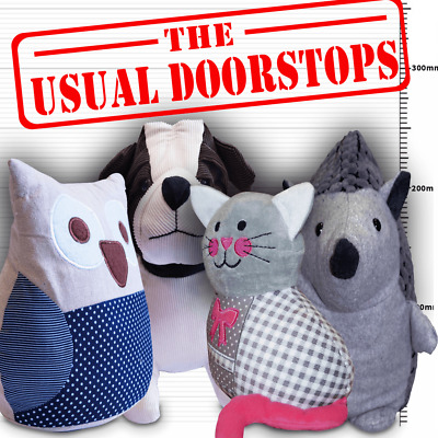 Animal Door Stopper - St. Helen's Quality Product Sand Filled Heavy Weight Gift