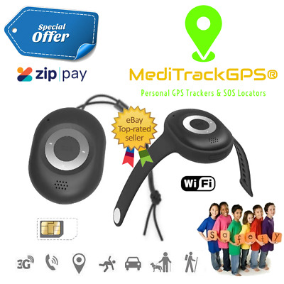 MediTrackGPS® Aged Care GPS Tracker with Fall Detection | Alzheimer's | Dementia