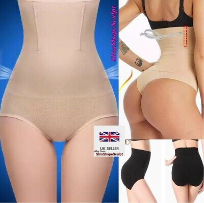 Ladies Pull You Me In Pants Slimming High Waist Briefs Knickers Thong for Women