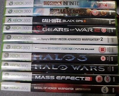 Xbox 360 10 Games FPS Bundle - Preowned - Fast Dispatch