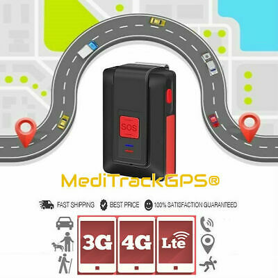 MediTrackGPS® Traveller™ 3G 4G LTE Personal GPS Tracker with Fall Detection SOS