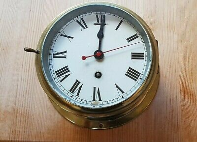 Vintage Smiths Astral bulkhead clock 8 day
