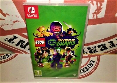 Lego DC Super Villains [Nuovo] Nintendo Switch