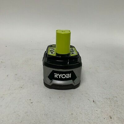 Ryobi P108 Battery 18V 18 Volt One+ HighPre Capacity 4Ah Li-ion W/Fuel Gauge