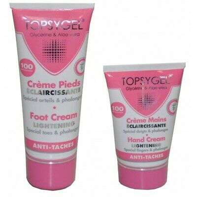 HT26 Topsygel Hand Cream + Foot Cream, Special fingers Toes and knuckles