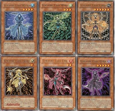 Yugioh Fortune Lady Deck - Fortune's Future Dark Light