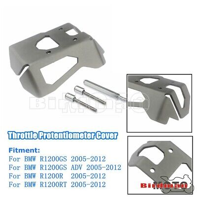 For BMW R1200GS ADV RT 05-12 Gray Throttle Protentiometer Cover Guard Protector