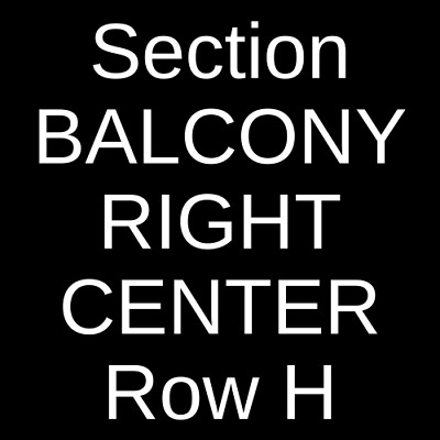 4 Tickets Nathaniel Rateliff and The Night Sweats 10/12/19 Port Chester, NY