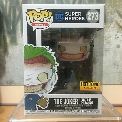 Funko POP DC Super Heroes 273 Hot Topic Exclusive The Joker Death of the Family