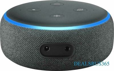 NEW Amazon Echo Dot 3rd Generation Smart Speaker with Alexa Assistant- Charcoal