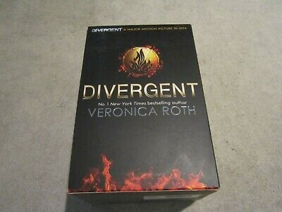 Veronica Roth,Divergent series, book set boxed ,3 books,