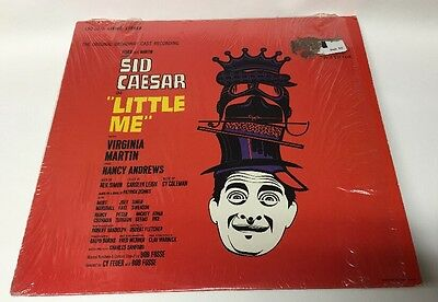 Little Me The Original Broadway Cast Recoding Sid Caeser LSO 1078 Lp Record Nm