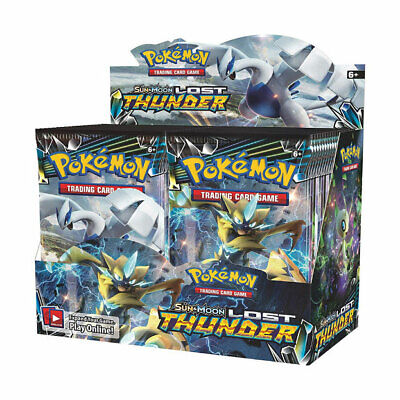 Pokemon Tcg Sun & Moon English Card Box Factory Sealed! Ships 36 Pack