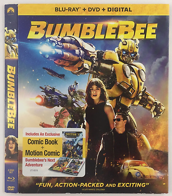 BumbleBee PARAMOUNT *Slipcover ONLY* for Blu-ray EMBOSSED
