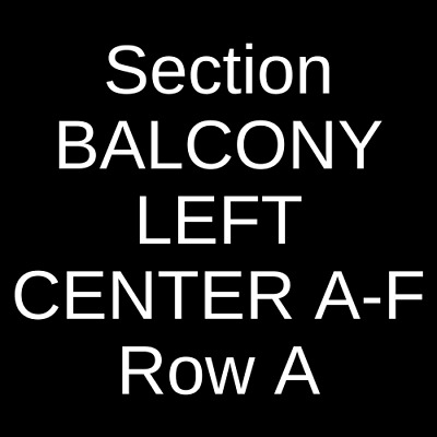 3 Tickets Nathaniel Rateliff and The Night Sweats 10/12/19 Port Chester, NY