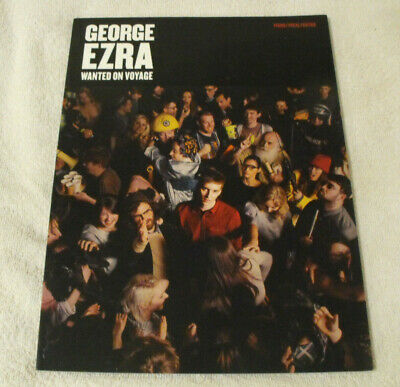 George Ezra Wanted on Voyage Piano Vocal Guitar Sheet Music Book New Ex-Display