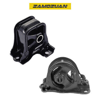 A073 For 00-02 Accord 2.3L Front Left//Rear//Trans Mount Set No Vacuum 3PC AUTO