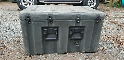 "Hardigg-Pelican Wheeled Case Medical 33x21x19"" w/ Pressure Relief Military Used"
