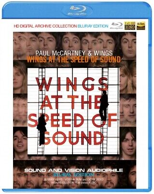 NEW PAUL McCARTNEY & WINGS / WINGS AT THE SPEED OF SOUND BLURAY EDITION ##Yu+na