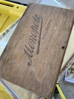 Vintage Monopole Magnums Antique Cigar Box