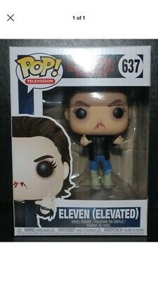 BRAND NEW LAST ONE Funko POP! Television Stranger Things #637 Eleven Elevated