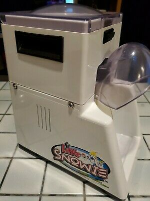 Little Snowie Ice Shaver Snow Cone Machine