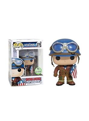 Funko POP! Marvel WWII Captain America 2017 Spring Convention Exclusive #219