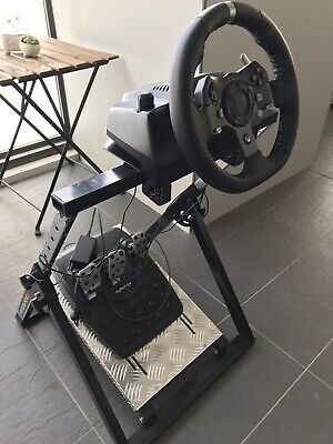 Logitech G920 Driving Force Racing Wheel with Frame