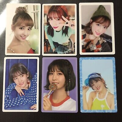Lot of 6 Twice Momo Official Album Preorder Photocard