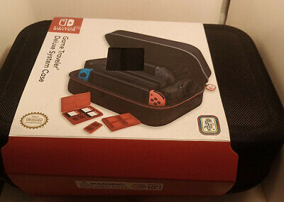 RDS Industries, Inc Nintendo Switch Game Traveler Deluxe System Case *FREE SHIP*