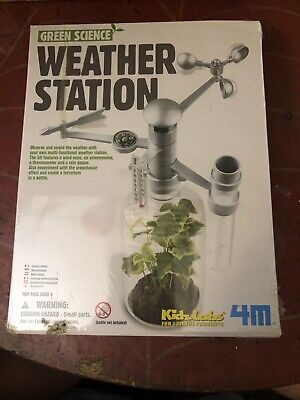 4M Green Science Weather Station Kit NEW and SEALED
