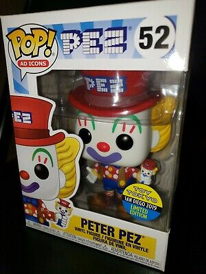 Funko Pop Peter Pez Toy Tokyo Exclusive SDCC 2019 Ad Icons 52