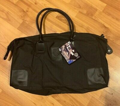 New Vince Camuto Duffle Bag Carry On Black