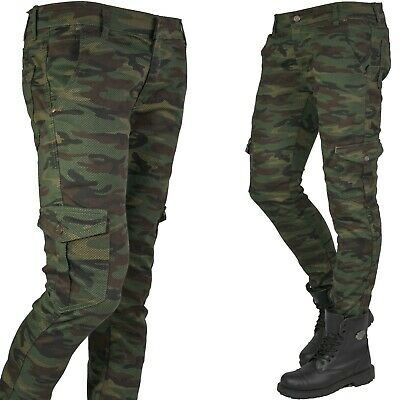 Mens Military Combat Trousers Camouflage Cargo Camo Army Casual Work Pants New