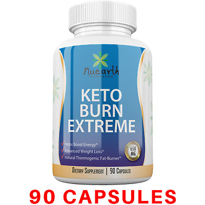 KETO EXTREME Advanced Weight Loss Diet Pills 90 caps Ketosis Fat Burn & Carb