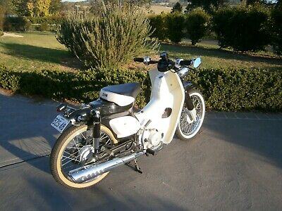 Custom, one of a kind retro scooter.