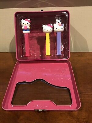 pez dispensers Hello Kitty Tin